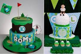 88 Birthday Cake Ideas For Golfers Snoozing On The Golf Course