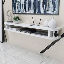 wall mounted tv cabinet wifi router set