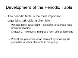 Periodicity and Atomic Structure - ppt video online download