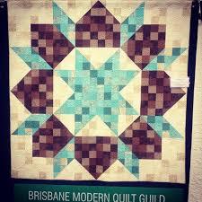 Review: Brisbane Stitches & Craft Show • The Crafty Mummy & aqua brown quilt Adamdwight.com