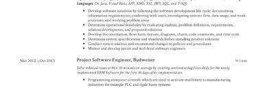 Resume Of Computer Engineer Software Engineer Resume Writing Guide 12 Samples Pdf