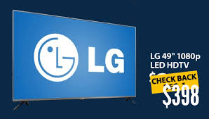 tv for sale walmart. 49-inch lg 49lb5550 led tv to sell for $398 in walmart cyber monday 2014 sale tv y