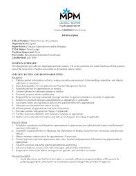 Recruiter Sampleob Description Impressive Resume Examples With
