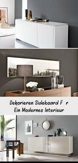 Dekorieren Sideboard Für Ein Modernes Interieur
