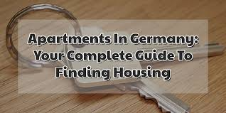 Another Word For Rent Apartments In Germany Your Complete Guide To Finding Housing