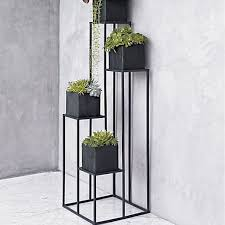 Flower Display Stands Wholesale American Minimalist Retro Furnishings Display Rack Wrought Iron 52