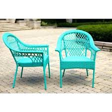 blue patio cushions turquoise dining set bistro wicker furniture and conversation sets with d