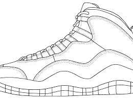 jordan coloring pages shoes coloring pages shoes shoes unique design coloring page coloring sheets air coloring