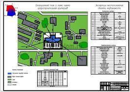 Управление процессом реконструкции гостинично торгового комплекса  12 Ситуационный план и схема оценки градостроительных критериев