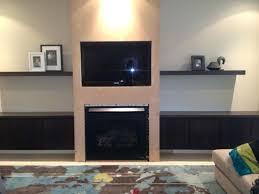 wall mount entertainment shelf dark wood floating shelveounted fireplace under appealing center wall mount entertainment shelf