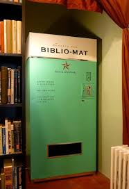 Book Vending Machine Locations Interesting Today In Spectacular Bookseller Practices A Random UsedBook