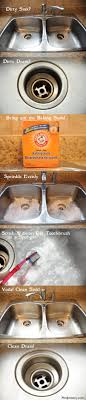 how to shine a stainless steel sink cleaning my entire house with baking soda in