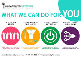 How To Make A Digital Flyer What Parachute Digital Fundraising Can Do For You Flyer