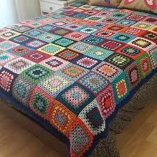 Granny Square Blanket Pattern Interesting Ravelry Colourful Granny Square Blanket Pattern By Kirsten Ballering