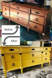 Mustard yellow furniture Miss Mustard Seed Dresser Makeover Mustard Yellow Awesome Furniture Makeover Mustard Yellow Console Painted Furniture Diy Pinterest 1029 Best Yellow Painted Furniture Images In 2019 Painted
