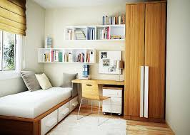 Small Bedroom Wall Bedroom Wonderful White Brown Wood Glass Modern Design Small