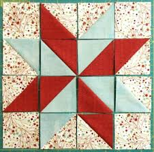 Star Pattern Quilt Fascinating How To Make A LeMoyne Star Block Quilts By Jen