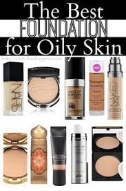 the top 10 foundations for oily skin