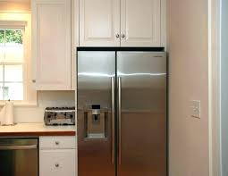 ikea refrigerator cabinet kitchen cabinets refrigerator panels kitchen refrigerator cabinet medium size of for space above