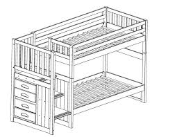 bunk bed with stairs plans. Wonderful With Loft Bed Stairs Plans Building For Bunk Beds With 44 A Build Home Design  Ideas Modernday On Bunk Bed With Stairs Plans G