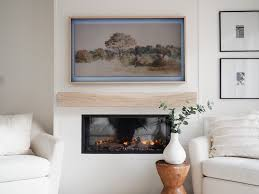 build an electric fireplace tv wall