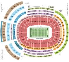 Lambeau Field Seating Charts For All 2019 Events