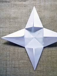 How To Make A Christmas Star With Chart Paper How To Make Christmas Paper Star Decorations Hgtv