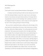 human brain essay the human brain has the same general structure  4 pages