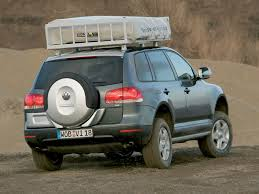 2005 Volkswagen VW Touareg Expedition - Rear Angle - 1024x768 ...