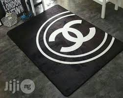 cool black chanel rug