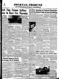 Williamsburg Journal Tribune from Williamsburg, Iowa on August 28, 1958 ·  Page 1