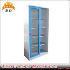 China Sliding Glass Door Adjustable Metal Filing Cabinets