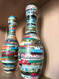 Decorated Bowling Pins What happens to Bowling Pins at the end of their lives TheUnion 20