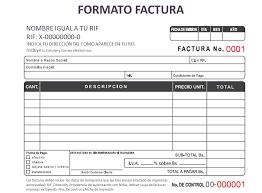 Modelos De Invoice Gratis Formato Factura Under Fontanacountryinn Com