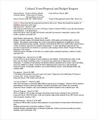 Events Proposal Sample Stunning 48 Proposal Examples PDF
