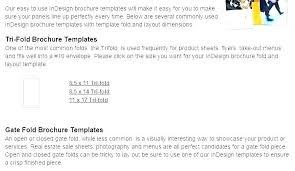 11x17 Trifold Template Corporate Fold Brochure Template 2 Blank Tri Fold Brochure