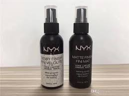 top quality nyx makeup setting spray dewy finish fini mat veloute matte finish long lasting