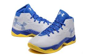 under armour shoes stephen curry 2016. stephen curry 2.5 elite home white blue yellow basketball shoes under armour 2016