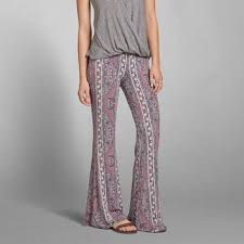 Flare Pants Pattern Unique Pattern Drapey Flare Pants From Abercrombie Fitch