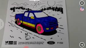 As you need the color to depend on an angle of an arrow, you have to calculate the angle somehow. Ford Truck Quiver Coloring Page Youtube