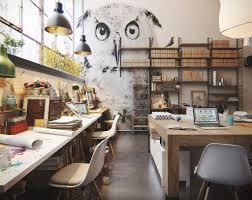 An Industrial Scandinavian Studio Filled With Artwork - Gravity Home