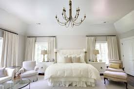 Chandeliers for bedrooms ideas, white master bedroom design white ...