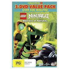 Lego Ninjago Masters Of Spinjitzu Dvd - Novocom.top