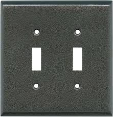 light switch covers. Decorative ANTIQUE PEWTER TEXTURE Light Switch Covers Plate - Outlet Wallplates In Stock Ready To Ship. C