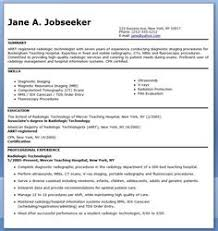 Radiologic Technologist Resume Template | Premium Resume Samples ...