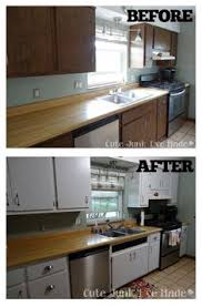 painting laminate kitchen cabinets before and after. Wonderful Cabinets How To Paint Laminate Cabinets  Before U0026 After Painting Wood  Intended Kitchen And N