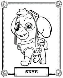 Paw Patrol Coloring Book Chase Paw Patrol Free Coloring Pages Paw