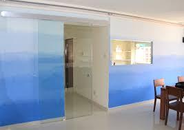 tempered glass doors