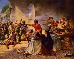 antonio lopez de santa anna the alamo. Delighful Santa Battle Of The Alamo With Antonio Lopez De Santa Anna The S