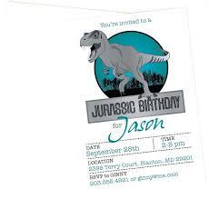 Park Dinosaur Printable Birthday Party Invitation Template Free